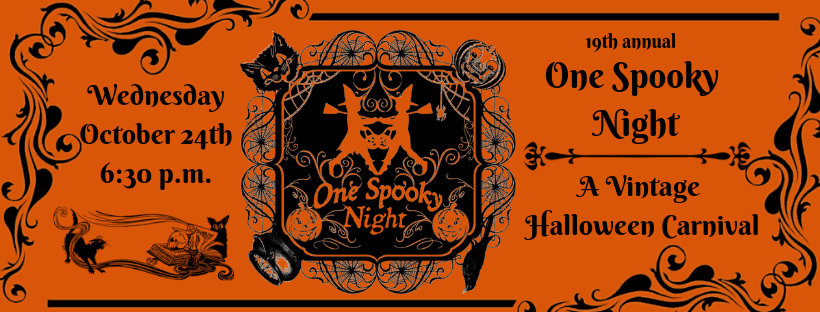 One Spooky Night; A Vintage Halloween Carnival