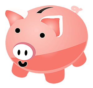 Image of a piggy bank.
