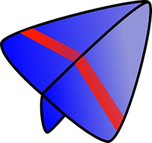 Image of a paper airplane