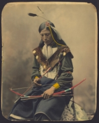 Old Photo of a Native American Man