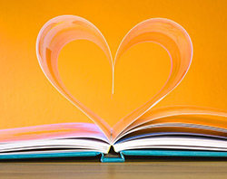 image of book love