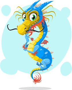 Image of a Chinese dragon.