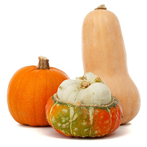 Photo of Fall gourds.