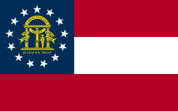 Image of the Flag of Georgia