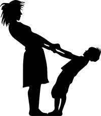 Image of a mother and child.
