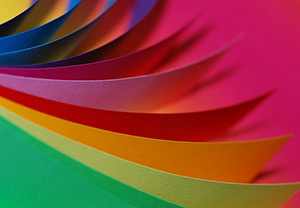 Image of colored crafting paper.