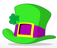 Image of a St. Patrick Day's hat