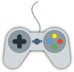 Image of a video game controller.