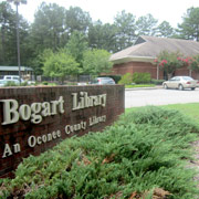 Photograph of the Bogart Library