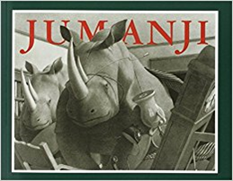 Bookcover of Jumanji.