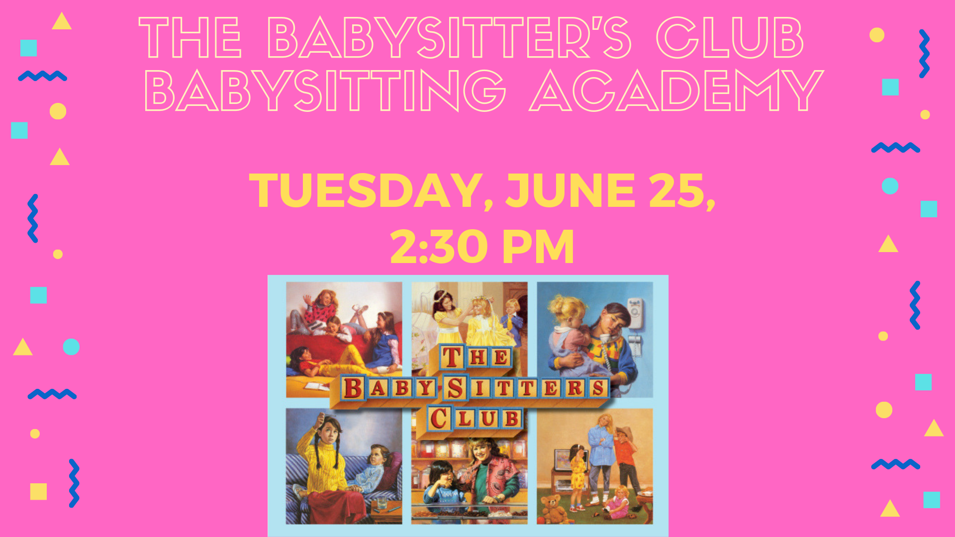 babysitters club book cover