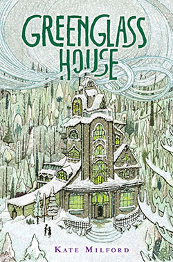 Book cover of Green Glass House