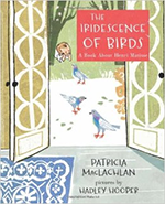 Book cover of The Iridescence of Birds