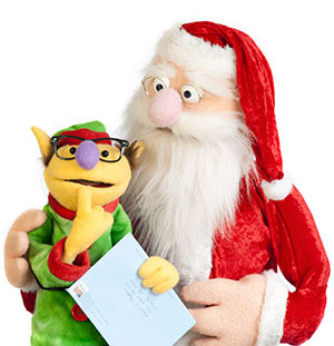 Photo of Puppets from Santa's Missing Mail