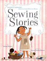 Book cover of Sewing Stories.