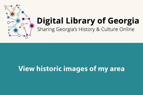 graphic of digital library of georgia view historic photos of your area
