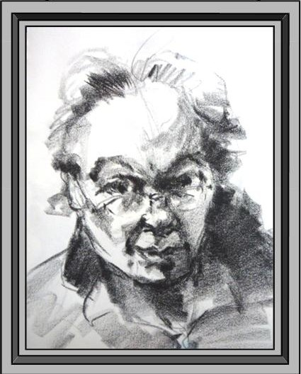 Drawing of Rich Panico